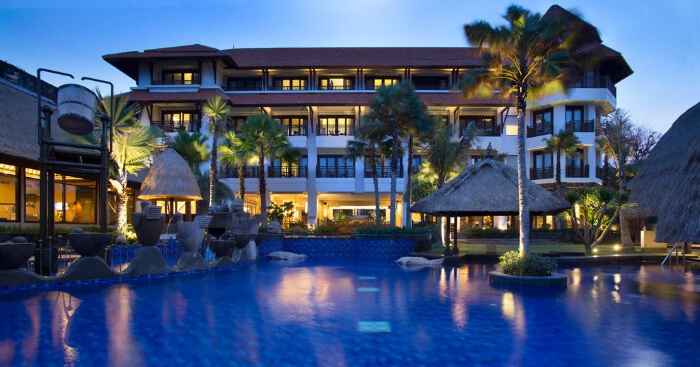a luxurious Nusa Dua resort