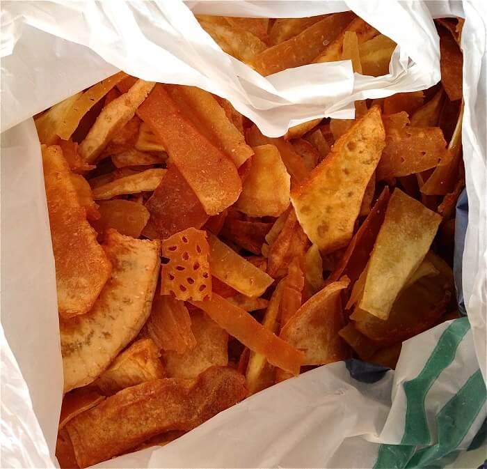 bread fruit chips