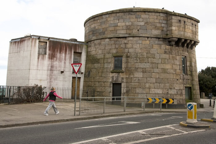 Go back in history in the Martello Tower Museum