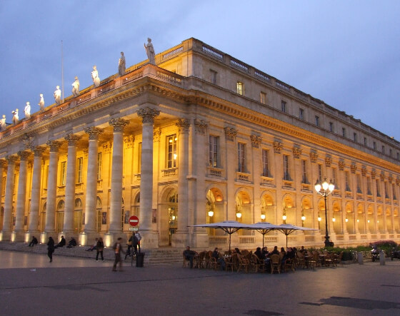 Grand Théâtre de Bordeaux in France