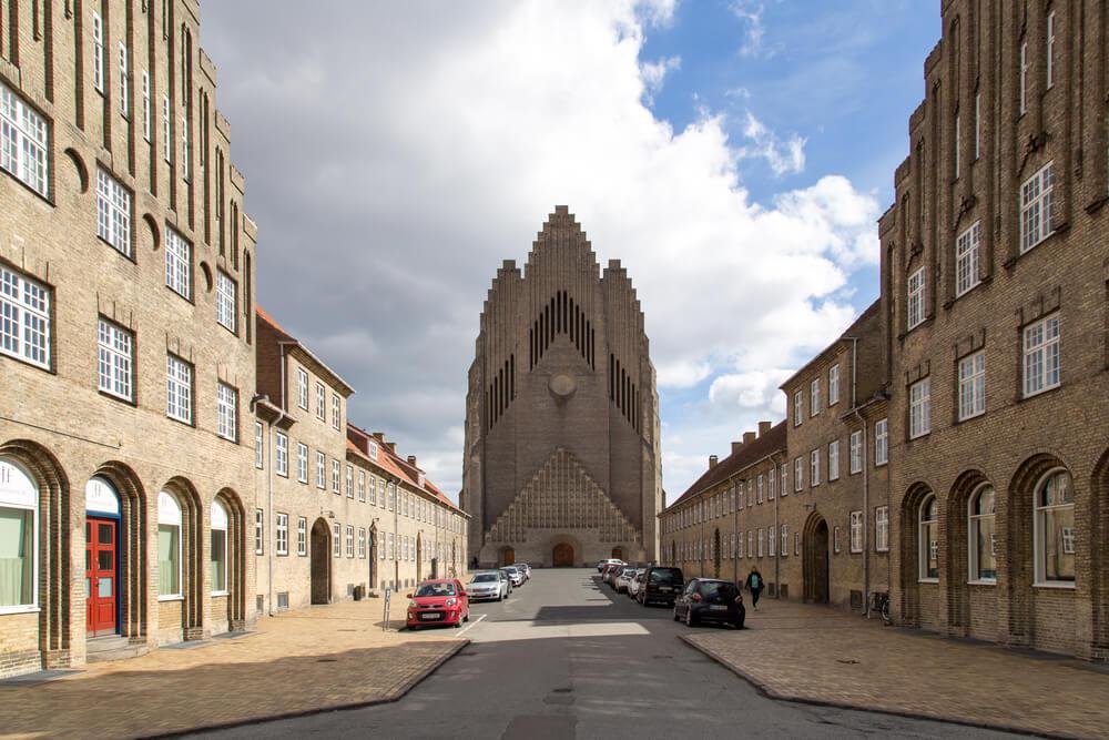 Grundtvig Church in Copenhagen