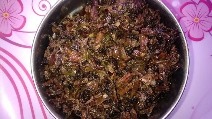 pickled leafy vegetable
