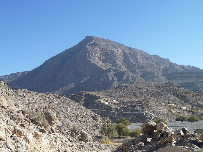 Hajar Mountains, Musandam, Oman