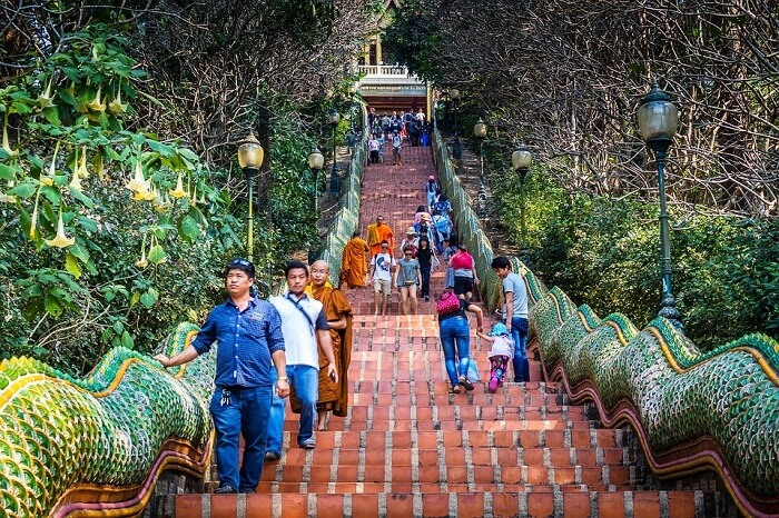 Wat Doi Suthep Travel Outdoors Religion