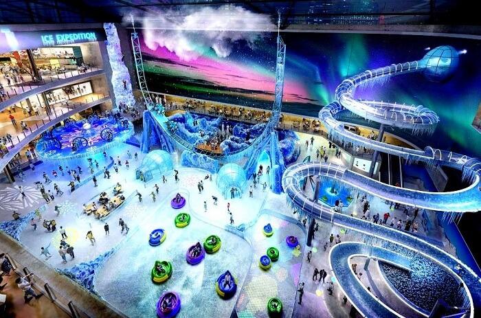 Ice Adventure Park at Dubai Square