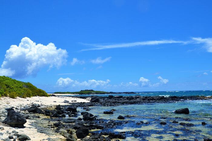 Ilot Gabriel Beach mauritius