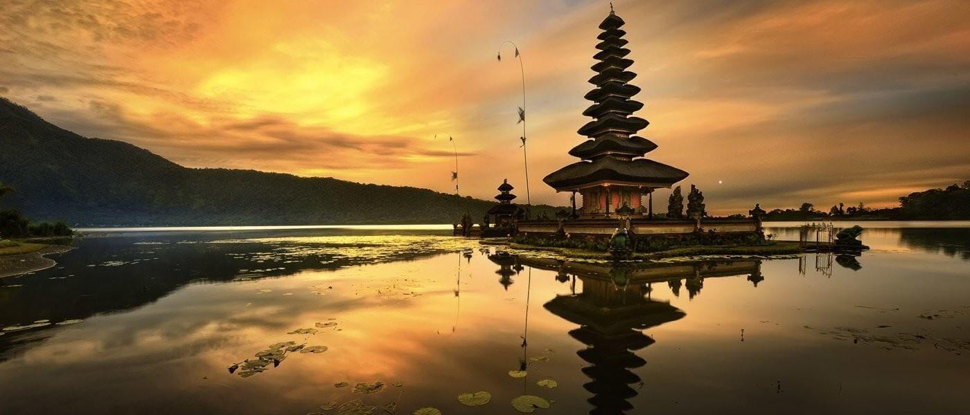 second largest lake in Bali
