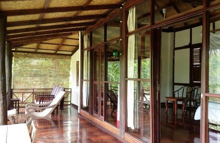unique jungle and river resort