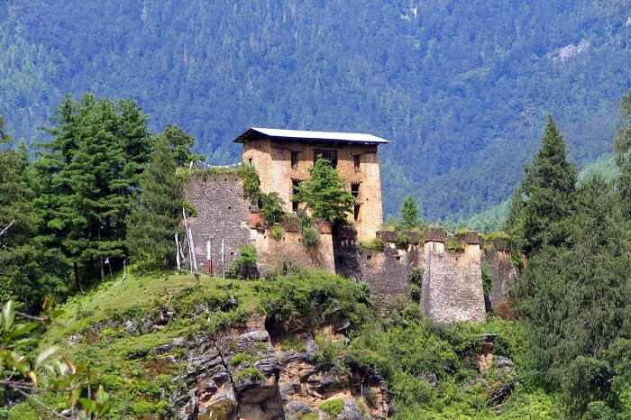 Marvel at the magnificent ruins of the Drukgyel Dzong
