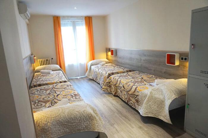 MuchoMadrid hostel in Spain