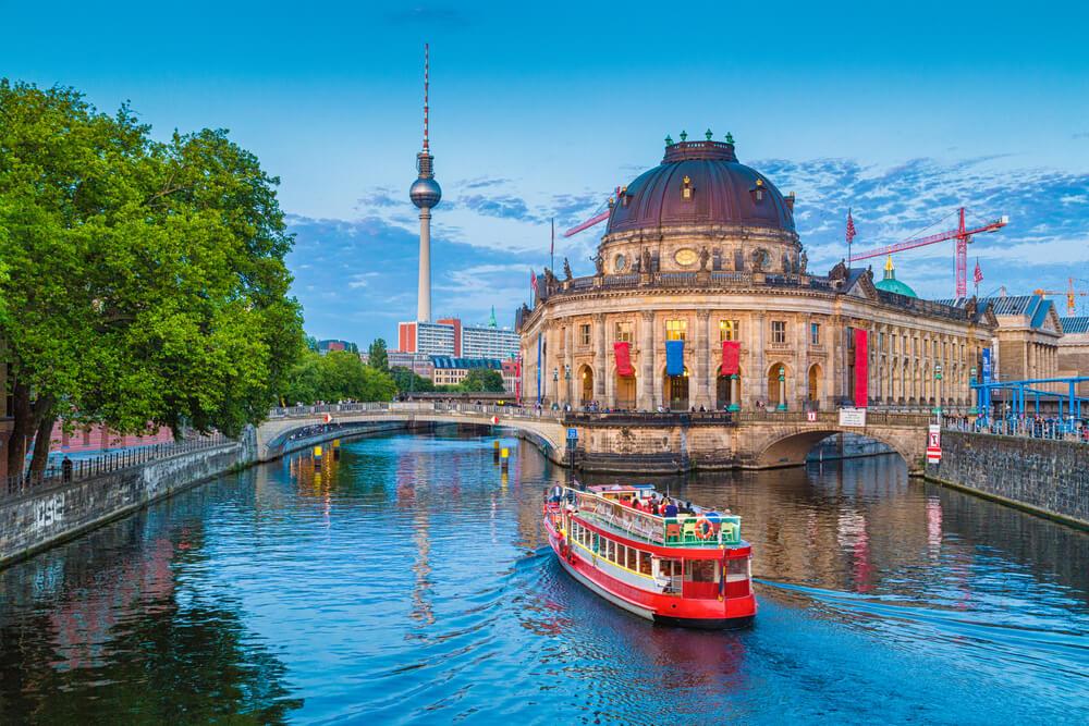 Museum Island in Berlin