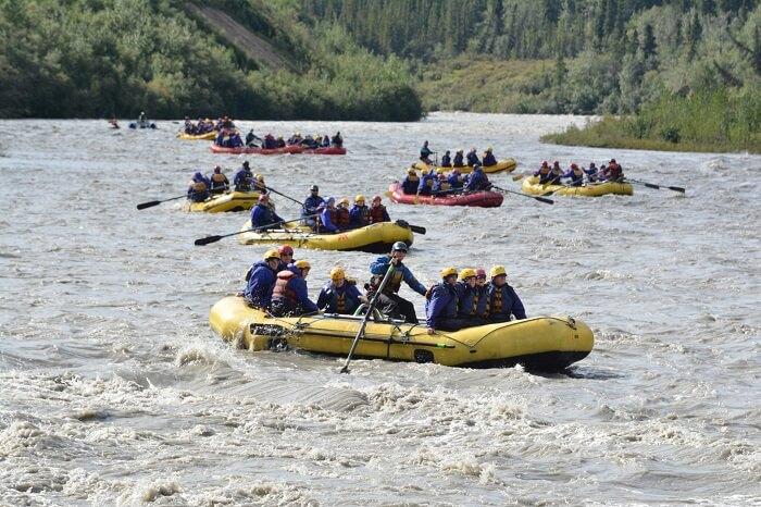 Nenana River Rafting