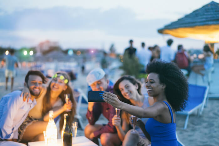 Nightlife at Beach