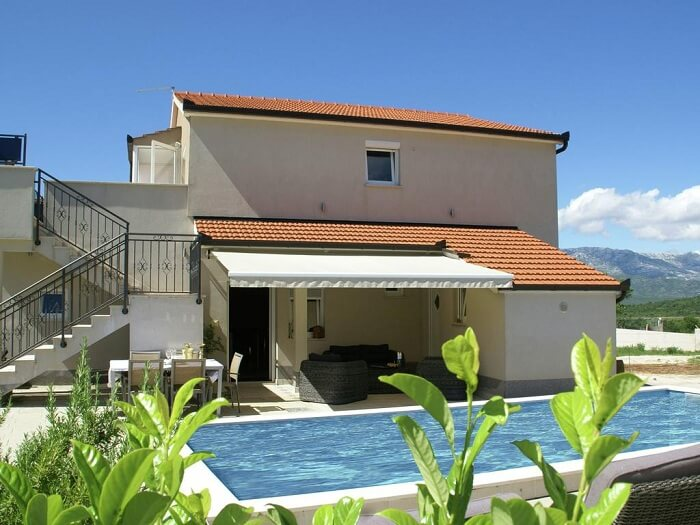 a gorgeous holiday cottage in Croatia