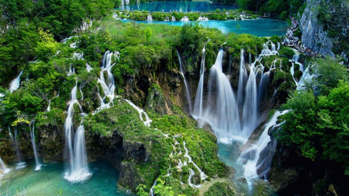 this is the largest national park of Croatia