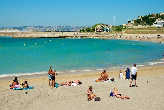 one of the famous beaches in Paris