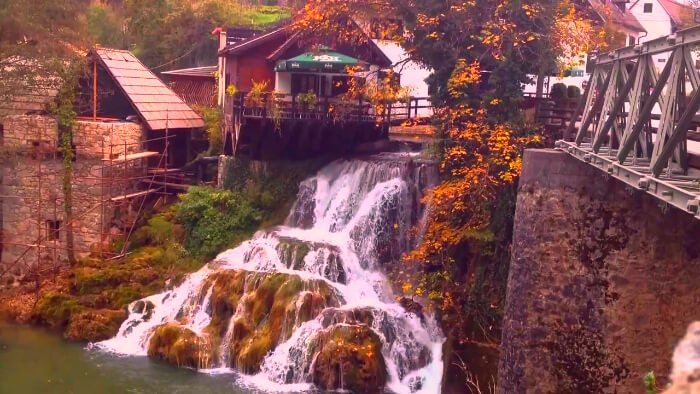extremely beautiful place of Rastoke