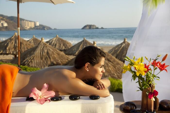 Relax your body with an amazing spa