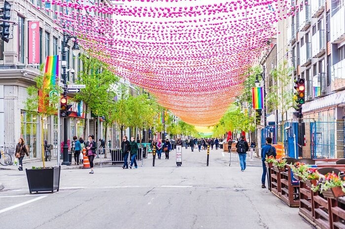 Europe's longest pedestrian shopping street