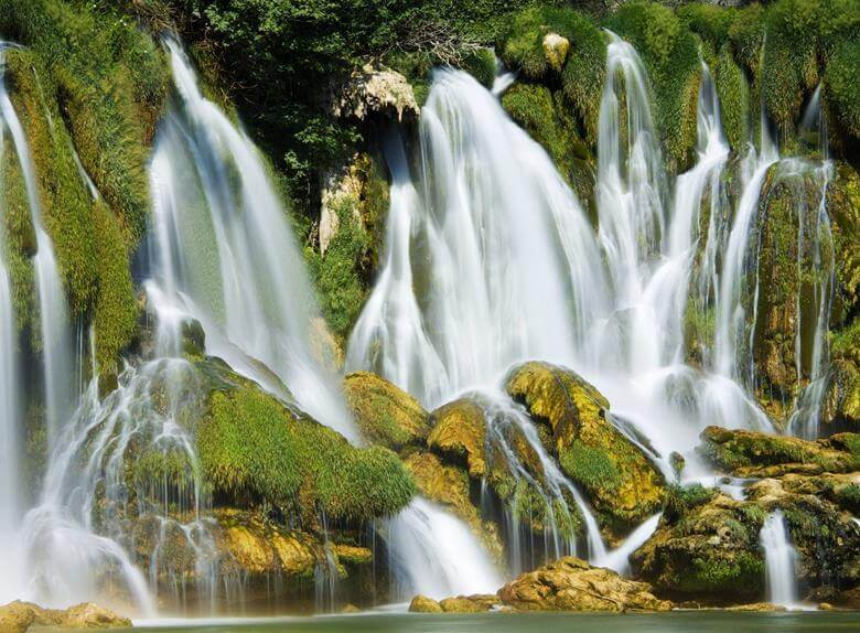 Skradinski buk is a visual delight to watch