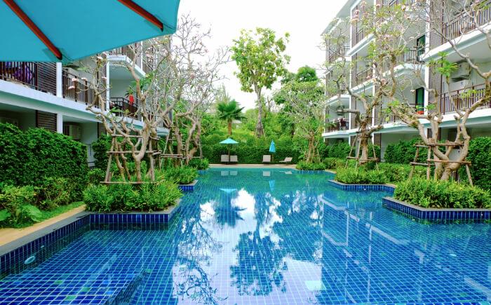 A resort at Koh Hae Thailand