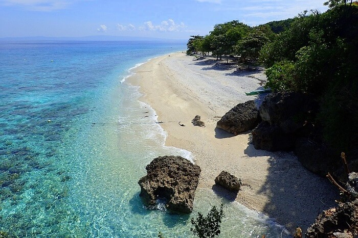 Sumilon Island Beach Oslob Philippines Cebu Sand