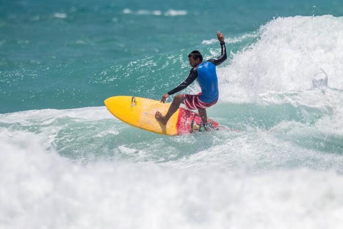 Surfing at Kata Beach