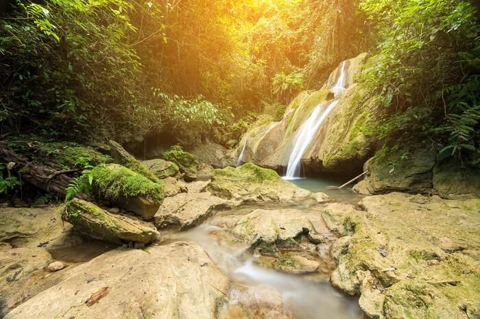lovely Laos waterfalls