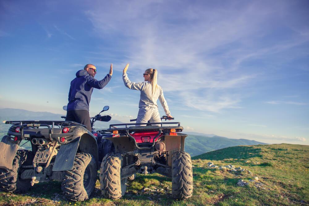 Take a ride on an ATV