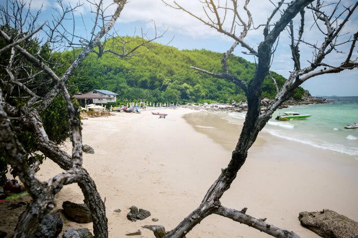 Tayaiy Beach in Koh Larn in Thailand