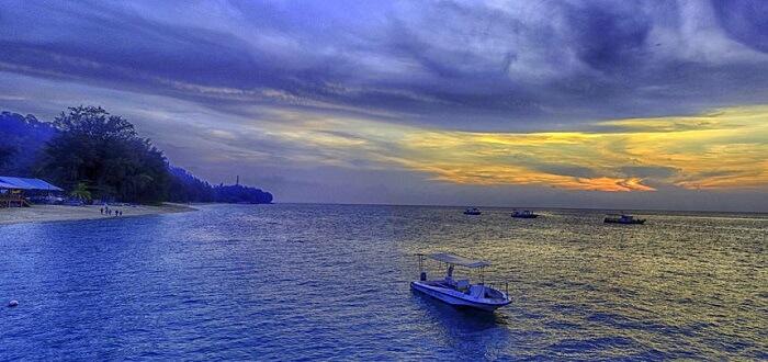 Sunset view at Tioman Island
