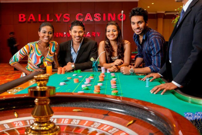 Try your luck at the Bally's Casino