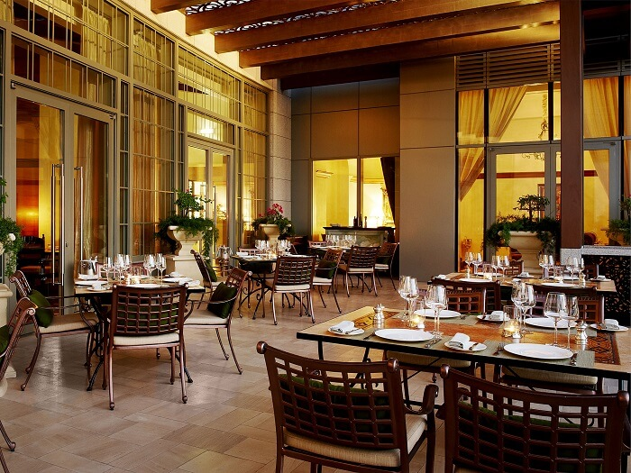 ambience perfect for a relaxed meal
