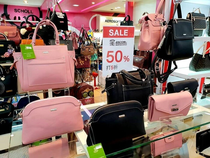 Sale at Vogue department store