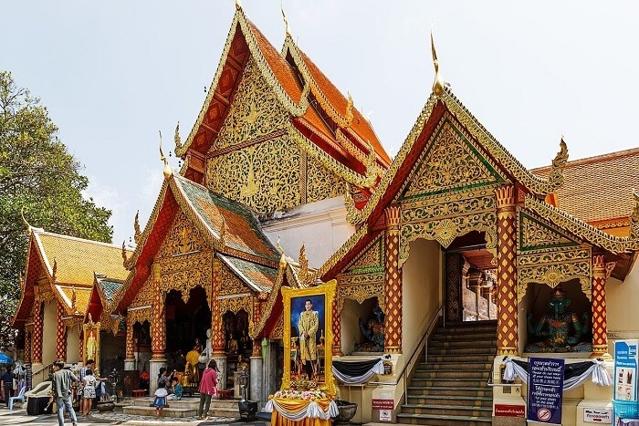 Wat Phra That Doi Suthep Location