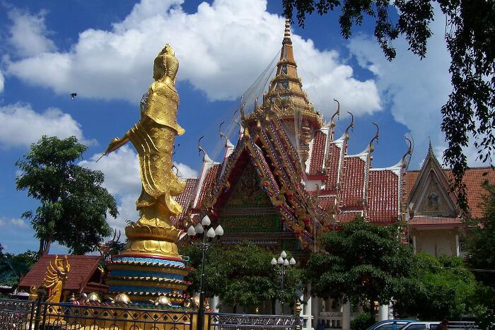 Wat temple thailand