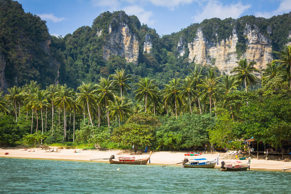 the most famous beaches in Krabi