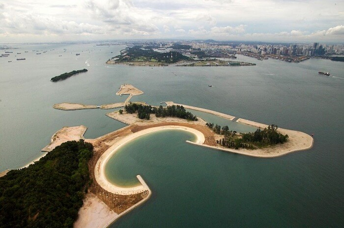 Top beach islands near Singapore