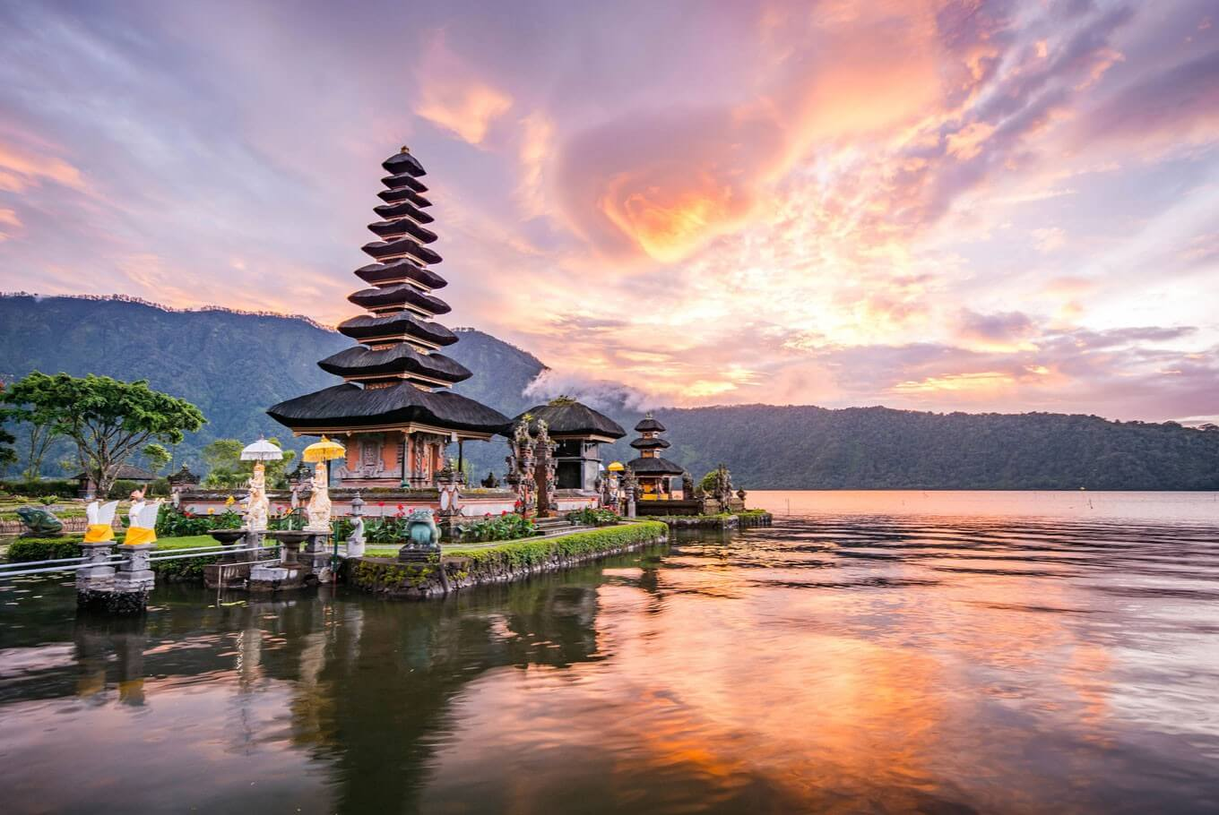 the gorgeous Bali