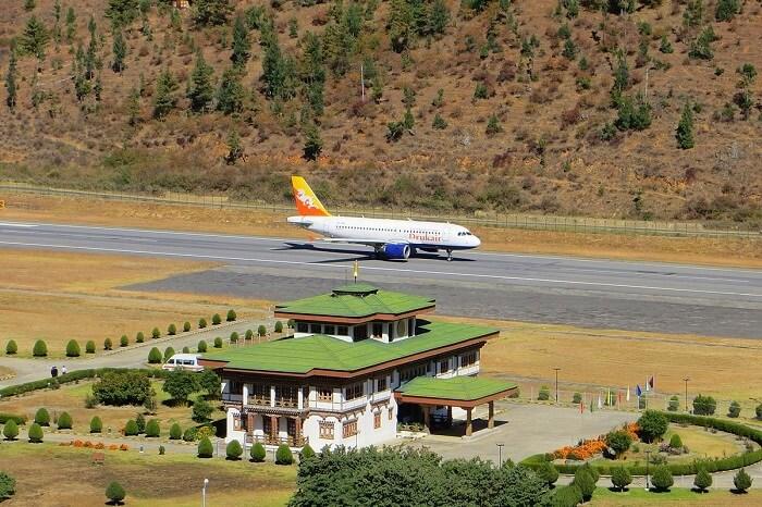 bhutan airports