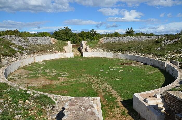 ruins of burnum