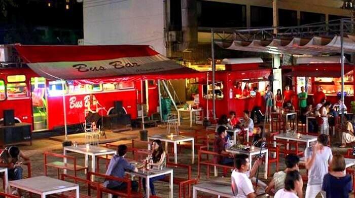 Bus bar, Chiang Mai