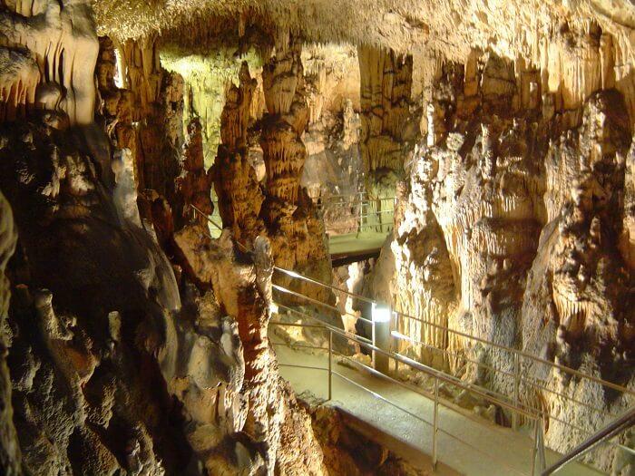cave in krka