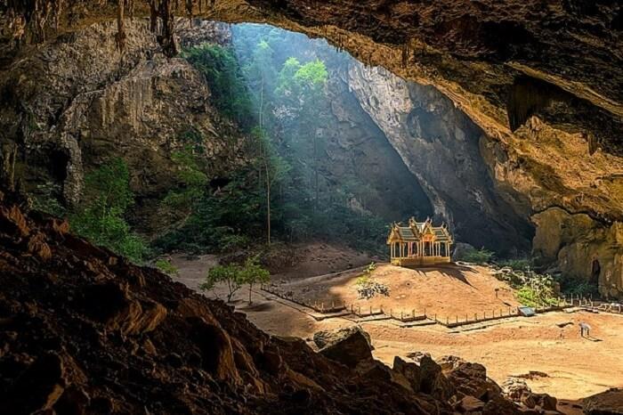 view of cave in erawan