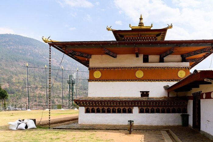 beautiful Buddhist monastery