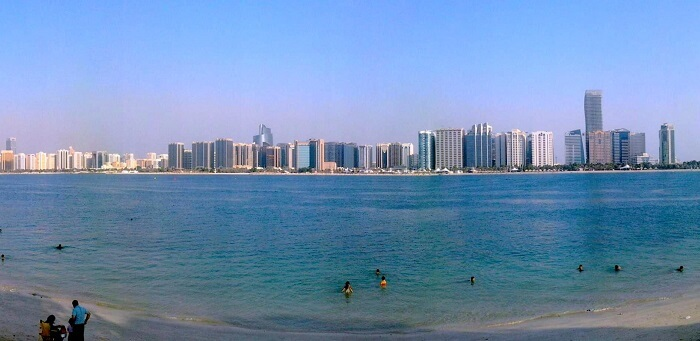 view of corniche beach