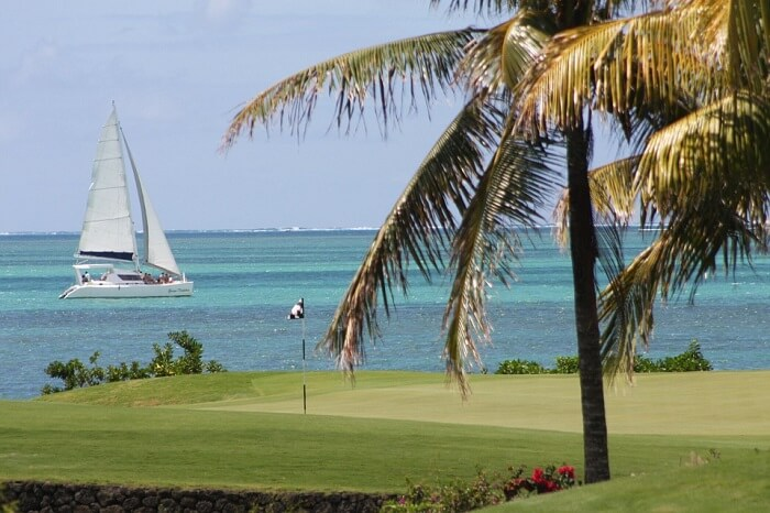 Golf club in ile aux cerfs