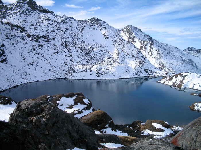 located at a height of 4380 meters