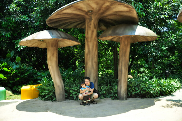 the first garden in Asia that's designed for children