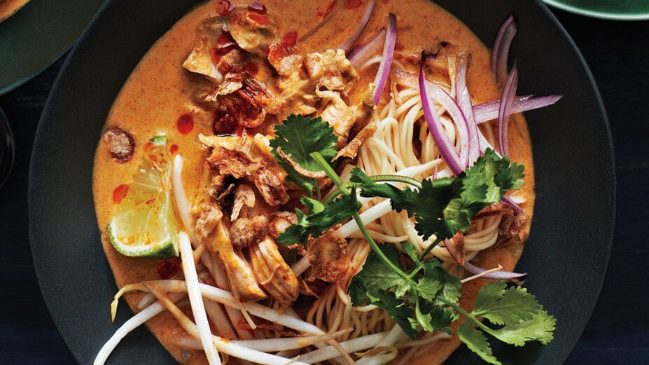 khao soi,laos delicacies,laos food